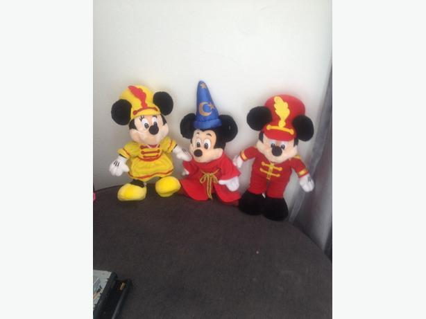 micky/minnie teddys