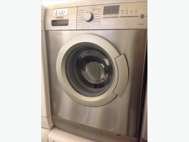 SIEMENS 6KG SILVER WASHING MACHINE