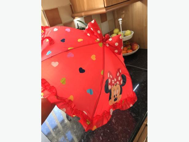 mini mouse mini umbrella!