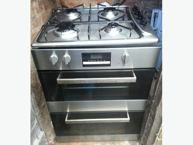 candy double oven and gas hob
