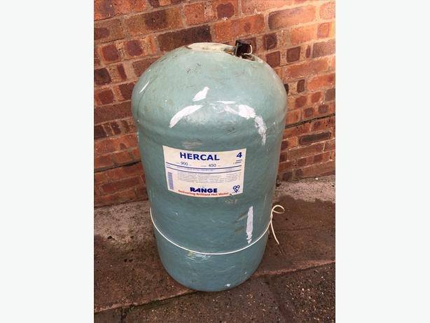 Copper water cylinder 117ltr