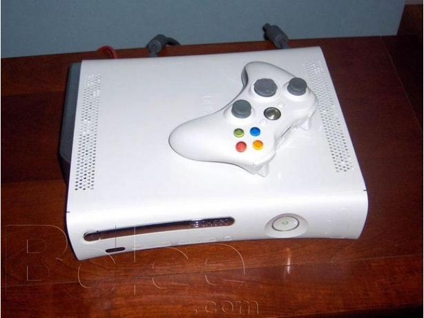 xbox 360 with pad