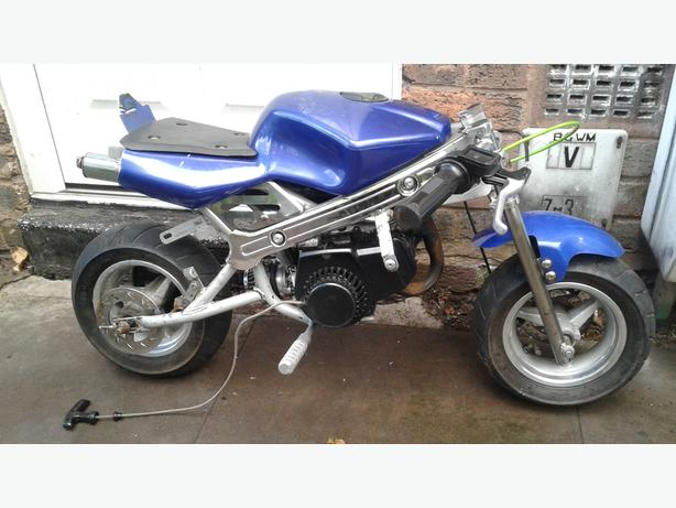 swaps mini moto 50cc not mini moto quad or dirt bike