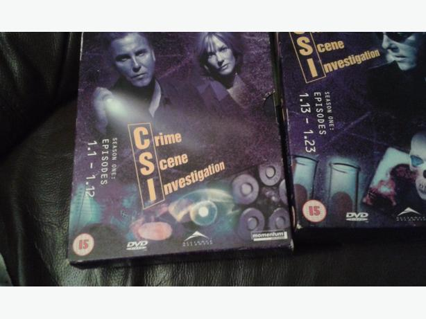 csi dvds boxsets