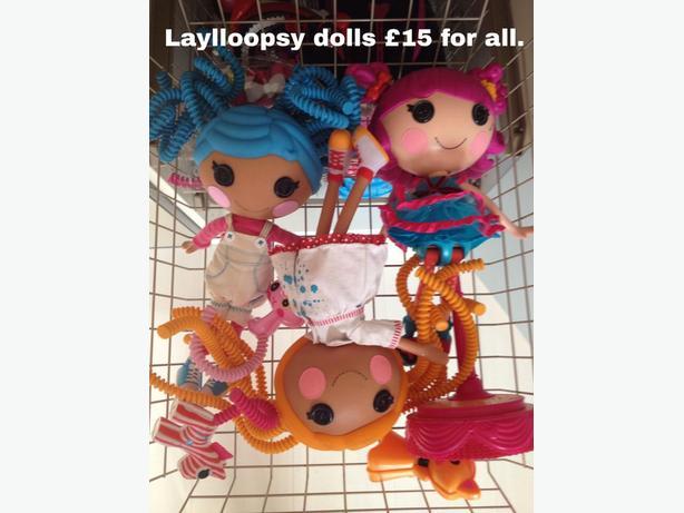 Lalaloopsy dolls