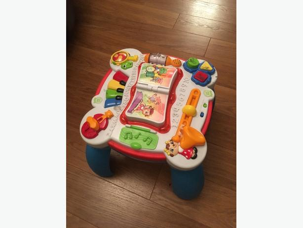 leap frog table top play centre