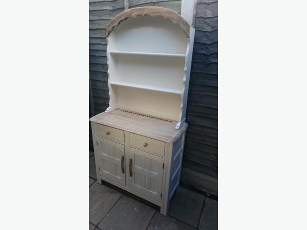 hand painted dutch dresser