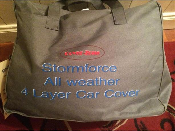 car cover,coverzone storm force all weather,top quality 4 layer
