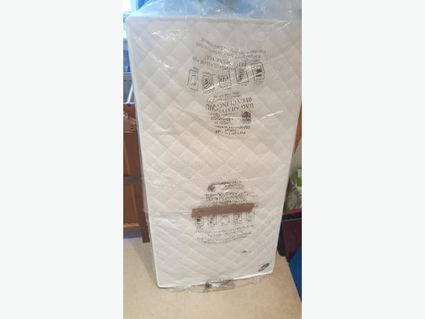 standard sized cot mattress
