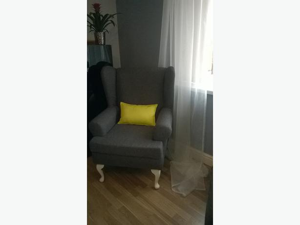 Brand new wing back arm chair