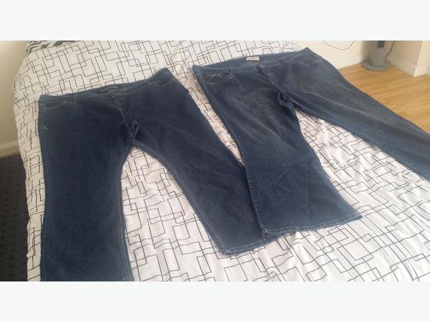 Evans plus size jeans