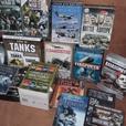 joblot military boxsets dvds