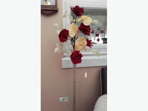 floor standing flower arrangement