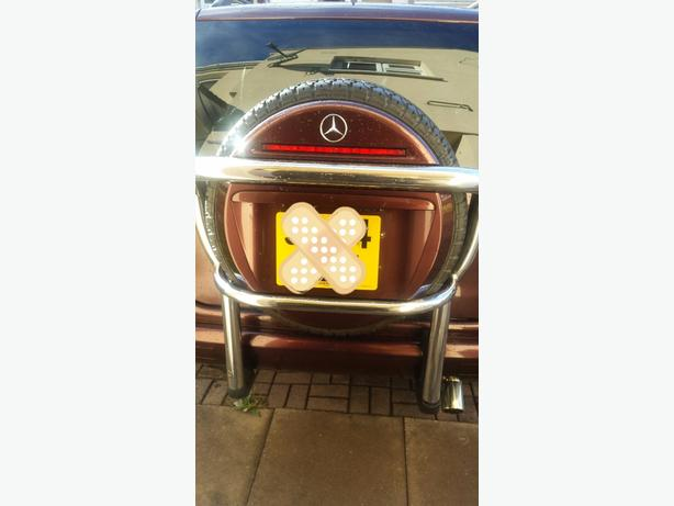 mercedes ml wheel carrier