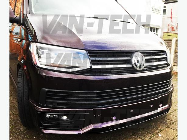 VW Transporter T6 Sportline Bumper and Rear Spoiler fitting  service