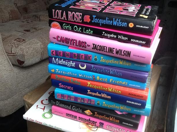 Jacqueline Wilson books X 11