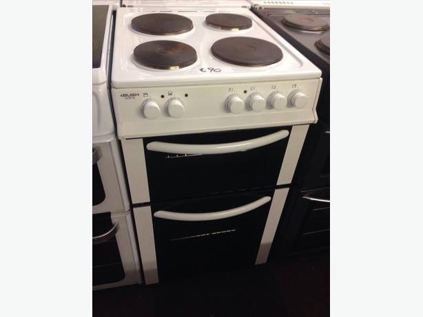 BUSH PLATED TOP 50CM ELECTRIC COOKER2