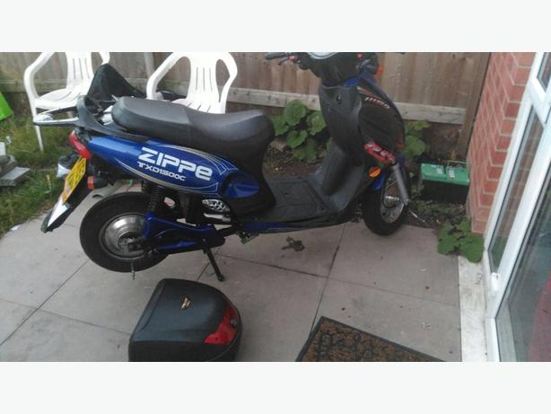 swaps for a 50cc or 125cc road worthy bike