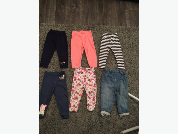 mixed baby girls clothes 12-18 months