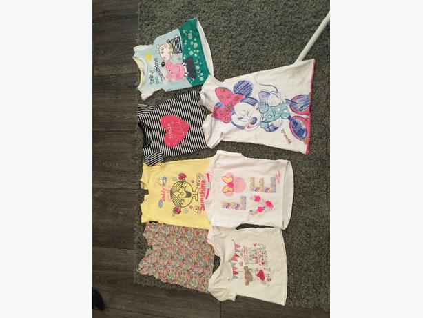 mixed baby girls clothes 12-18months