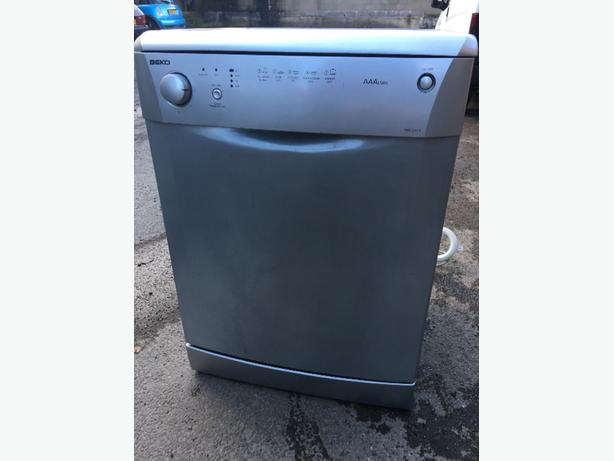 beko dishwasher - silver