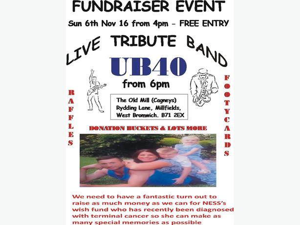 FUNDRAISER EVENT - 6TH NOV 2016 - SEE BELOW