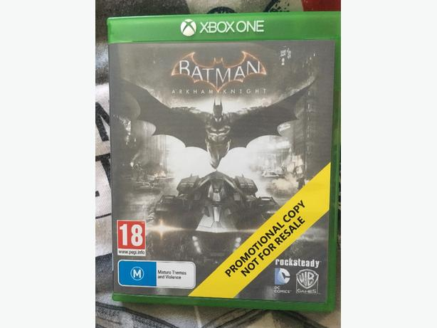 batman arkham knight xbox one promotional copy
