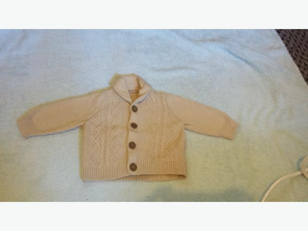 boys knitted cardigan newborn