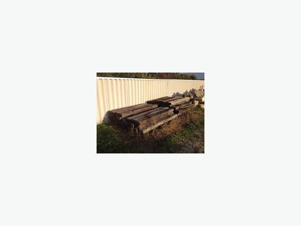 WANTED: OLD TATTY RAILWAY SLEEPERS