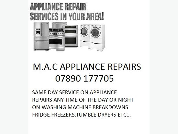 !!!WASHING MACHINE REPAIRS!!!