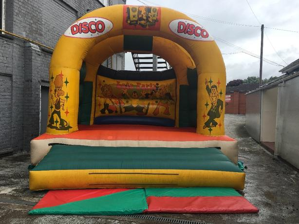 ANDY J 16x16 ADULTS & KIDS BOUNCY CASTLE