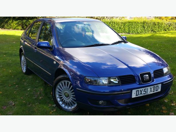 SEAT LEON (12 MONTHS MOT(FULL SERVICE HISTORY(ONE OWNER(mileage 62 K MILES
