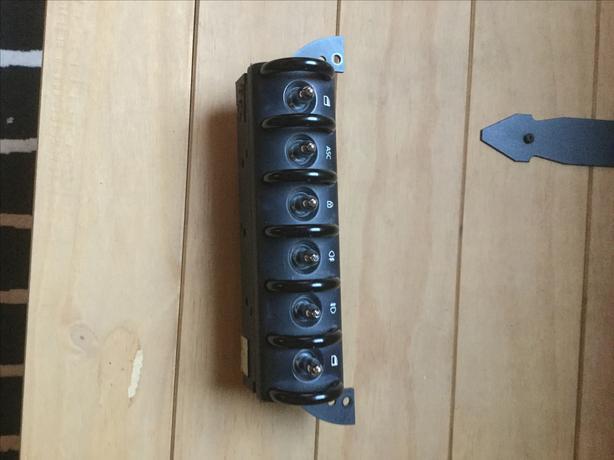 Mini Cooper toggle console