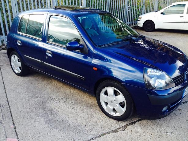 clio 1.4 automatic! only 49k! fantastic car!!