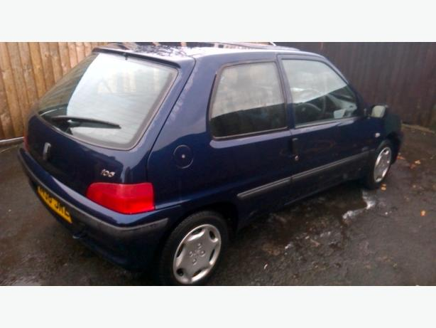 Peugeot 106 1.1petrol,mot april 2017