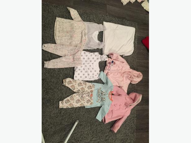 mixed baby girls clothes 6-9 months