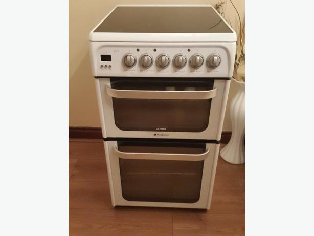 hotpoint 50cm eletric cooker