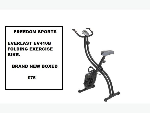 EVERLAST EV410B FOLDING EXERCISE BIKE BRAND NEW BOXED (REDUCED)