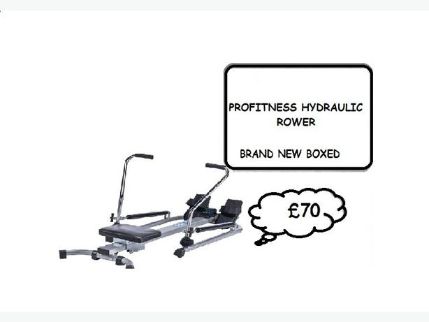 PROFITNESS Twin Hydraulic Rower (REDUCED)