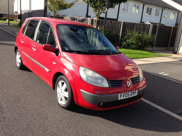 RENAULT MEGANE SCENIC 2005 05 PLATE 1.5 DCI DYNAMIC ALLOY WHEELS MOTED