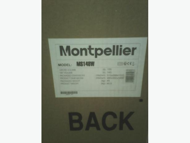 Montpellier ms148w fridge freezer