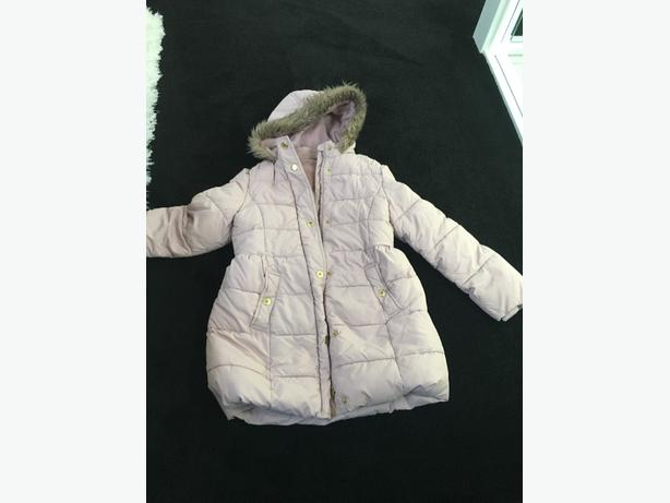 M&S 9/10 yrs padded coat