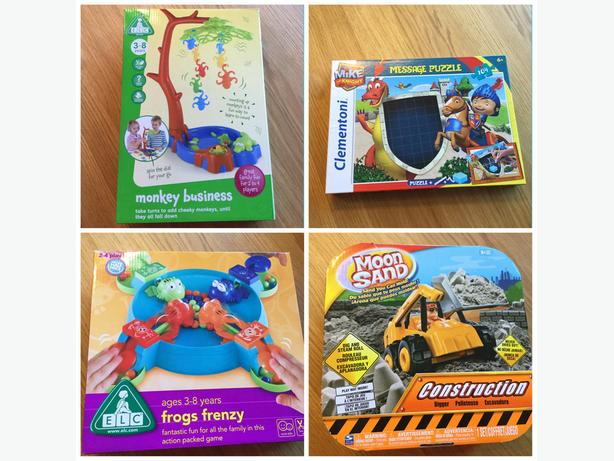 Toys - £5 each