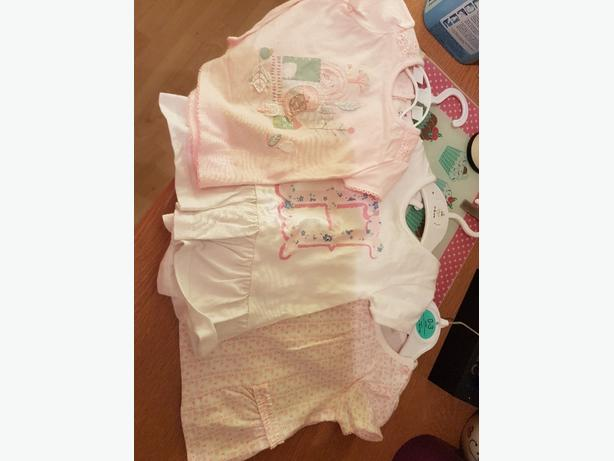 up to 1 month baby girl tshirts