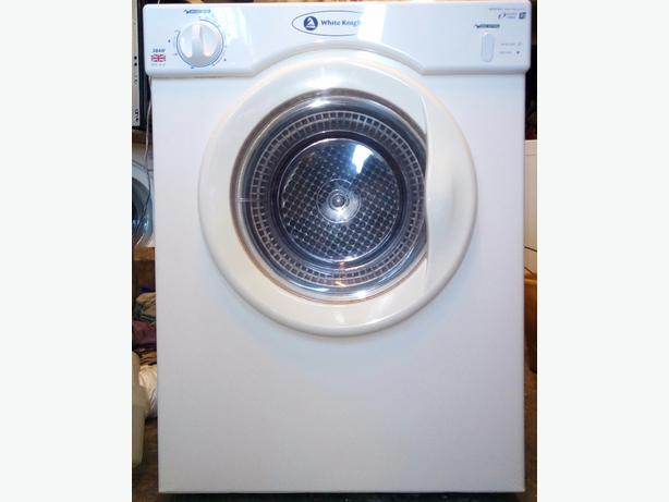 White Knight 38AW 3kg small vented tumble dryer for sale