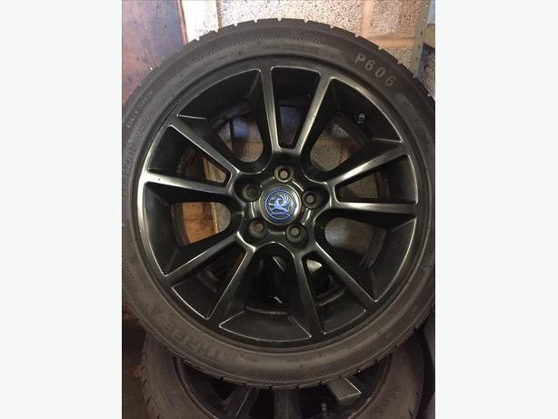"4 Vauxhall Astra 17"" alloys"