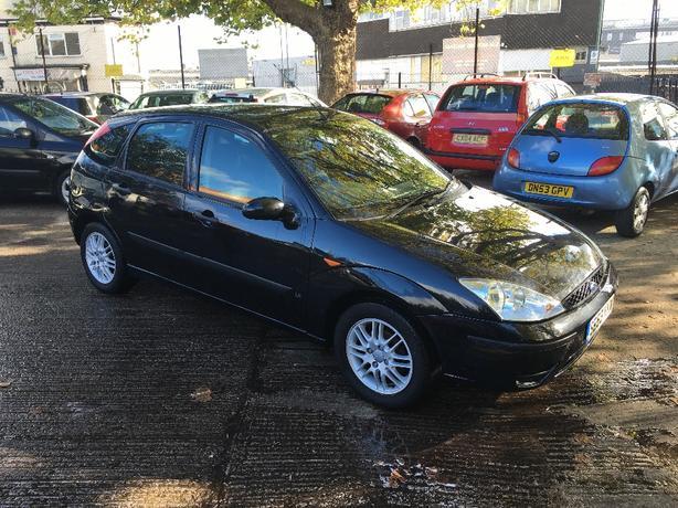 Ford Focus 1.6 LX 2003 53-reg full 12 months MOT