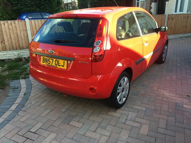 2008 ford fiesta style