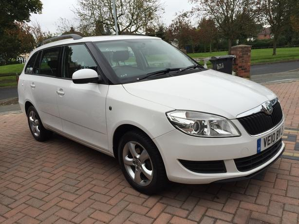 Skoda Fabia 1.6 TDI CR SE Estate 5dr Diesel Manual