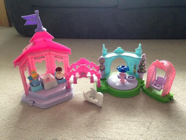 fisher price little people tea party set